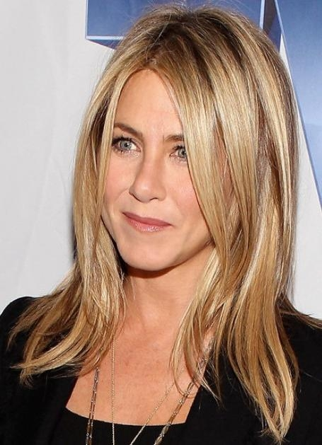 Recent Jennifer Aniston Long Haircuts In Jennifer Aniston Blonde Long Hairstyles 2012 – Popular Haircuts (View 14 of 15)