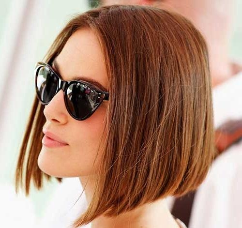 Recent Keira Knightley Bob Hairstyles Inside 15 Keira Knightley Bob Haircuts (View 8 of 15)