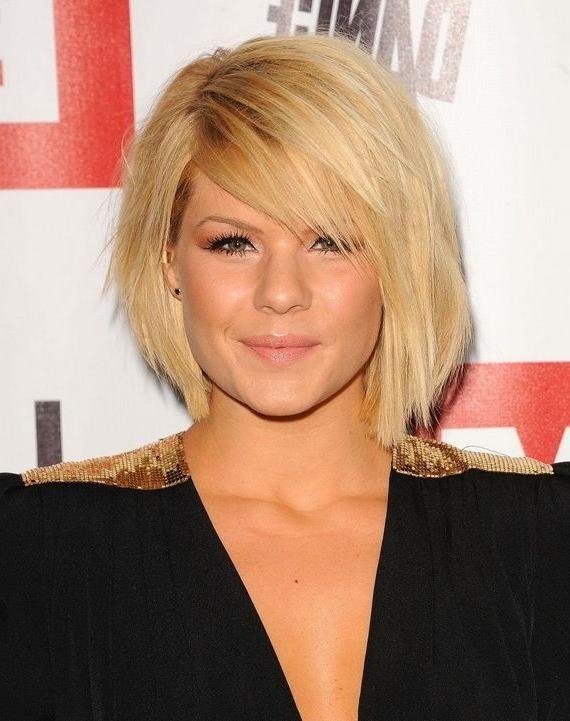 Featured Photo of Kimberly Caldwell Shoulder Length Bob Hairstyles
