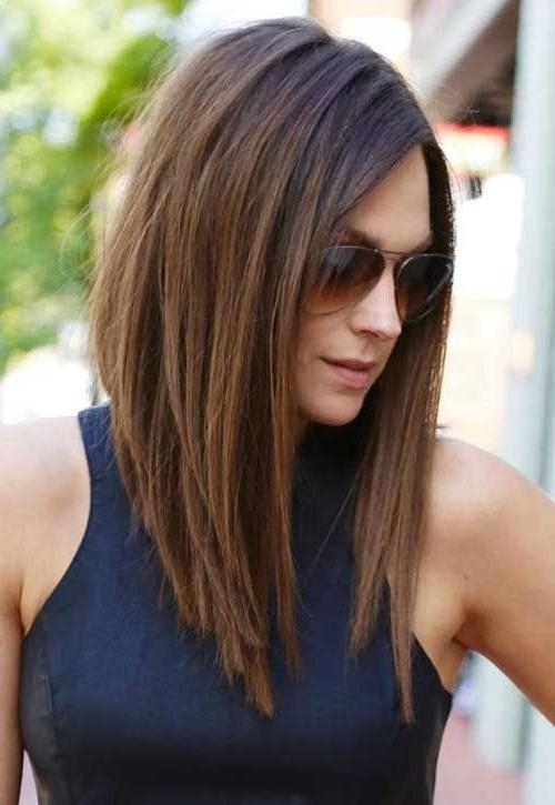 Recent Long Haircuts For Brunettes Inside Best 25+ Brunette Hairstyles Ideas On Pinterest | Which Brown Hair (View 4 of 15)