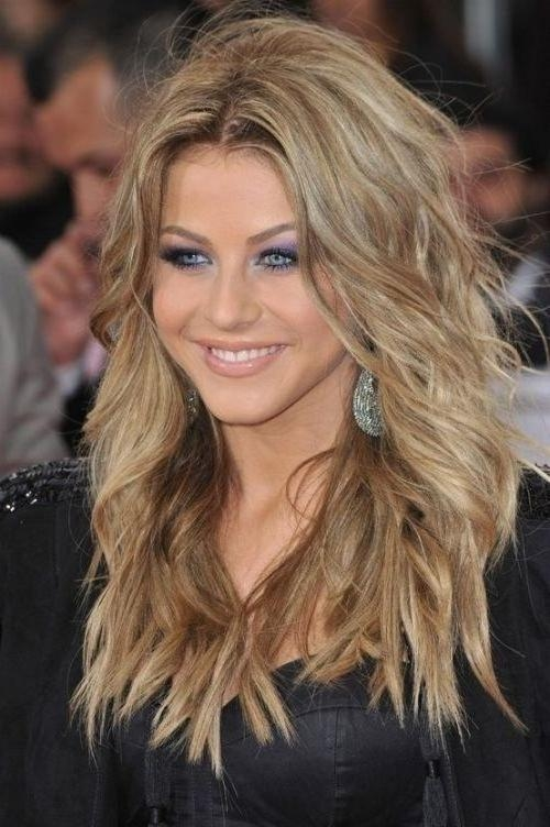 Recent Long Hairstyles Feathered Layered With Regard To Best 25+ Feathered Hairstyles Ideas On Pinterest | Face Change (View 15 of 15)