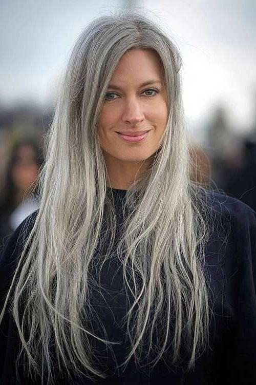 Recent Long Hairstyles On Older Women With Best 25+ Long Hair For Older Women Ideas On Pinterest | Older (View 14 of 15)