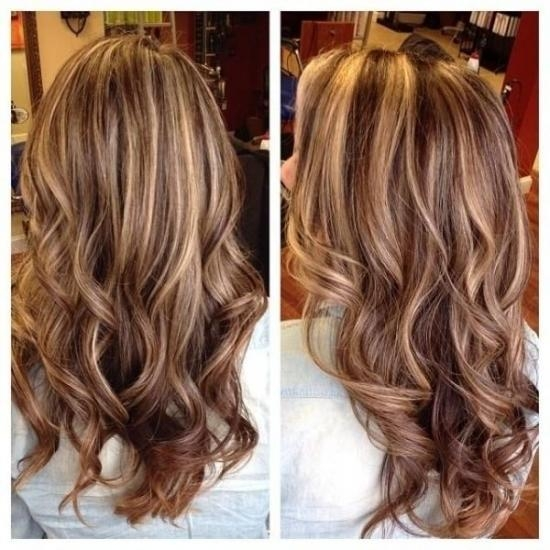 Recent Long Hairstyles With Highlights And Lowlights With Brown Hair With And Highlights And Lowlights – 100 Images – Brown (View 15 of 15)