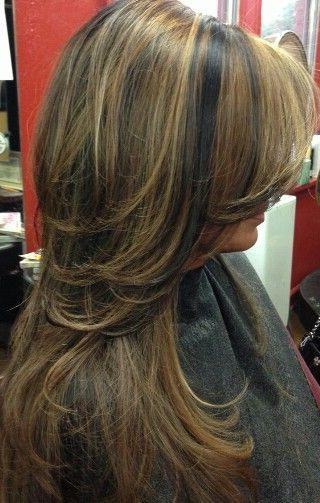 Recent Long Hairstyles With Layers And Highlights Inside 69 Best Hair Styles And Colors Images On Pinterest | Hairstyles (View 13 of 15)