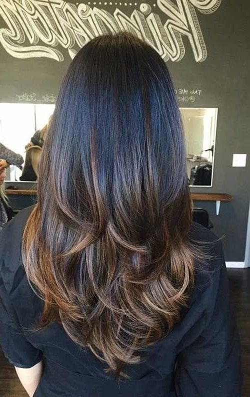 Recent Long Hairstyles With Layers And Highlights Within Best 25+ Long Layered Haircuts Ideas On Pinterest | Long Layered (View 15 of 15)