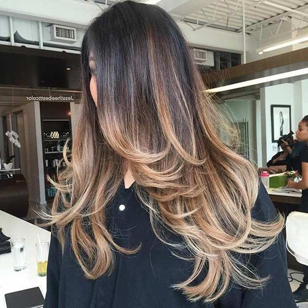 Recent Long Hairstyles With Layers And Highlights Within Best 25+ Long Layered Haircuts Ideas On Pinterest | Long Layered (View 14 of 15)