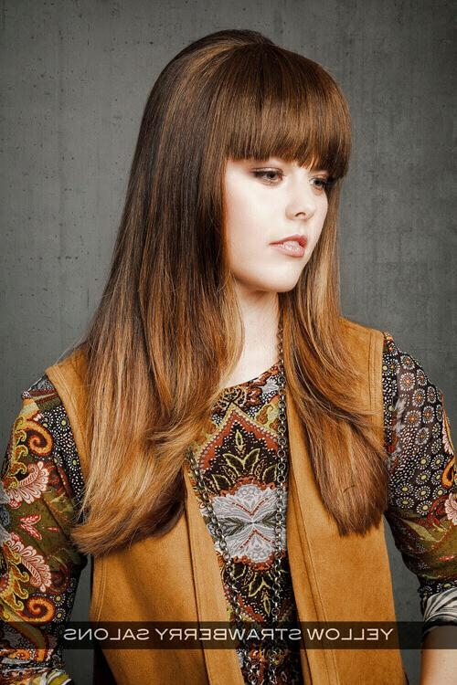Recent Long Hairstyles With Side Bangs For Round Faces In 22 Foolproof Long Hairstyles For Round Faces You Gotta See (View 14 of 15)
