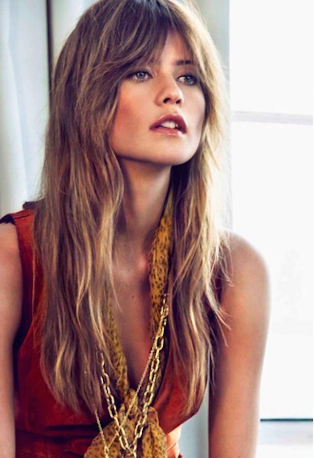 Recent Shaggy Long Haircuts Intended For Best 25+ Long Shag Haircut Ideas On Pinterest | Long Shag (View 14 of 15)