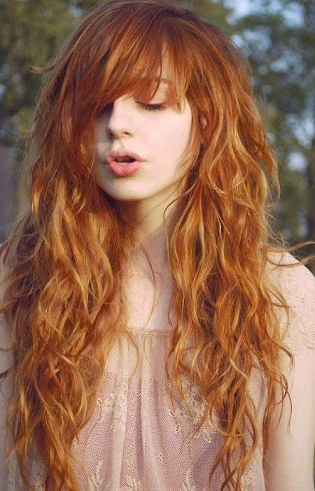 Recent Trendy Long Hairstyles With Bangs With The 25+ Best Long Hairstyles With Bangs Ideas On Pinterest | Long (View 5 of 15)
