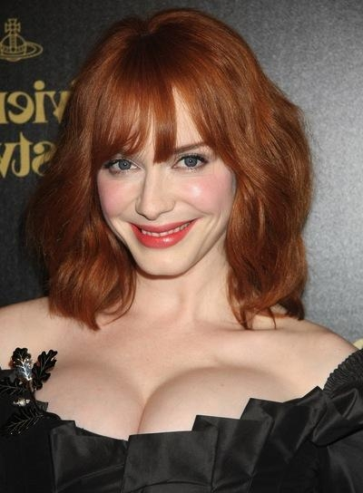 Red Bobs – Beauty Riot Within Trendy Christina Hendricks Bob Hairstyles (View 15 of 15)