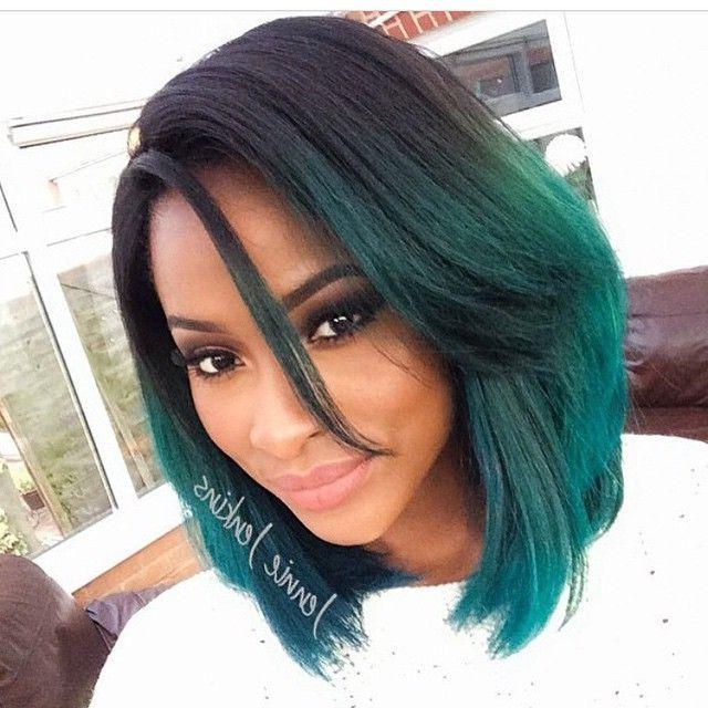 Featured Photo of Medium Bob Hairstyles For Black Women