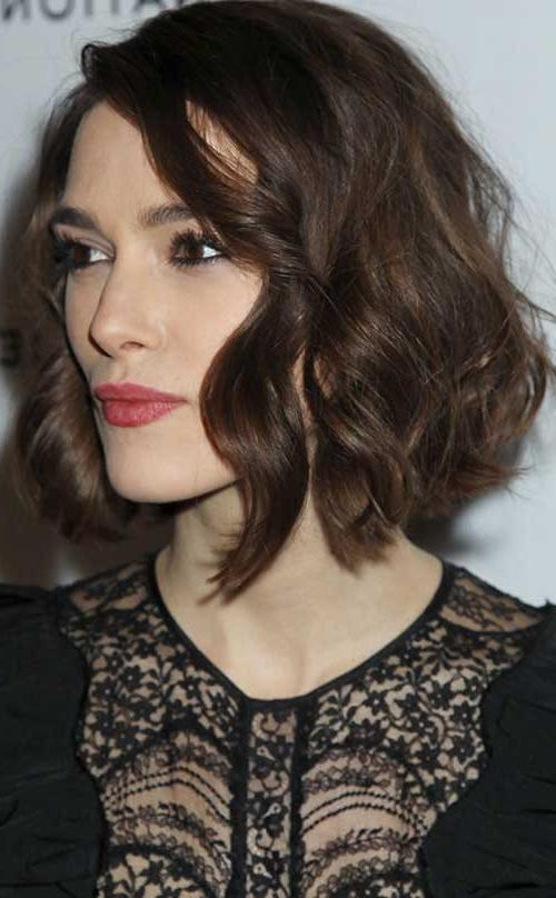 Short Hairstyles 2016 – 2017 Pertaining To Best And Newest Keira Knightley Bob Hairstyles (View 6 of 15)