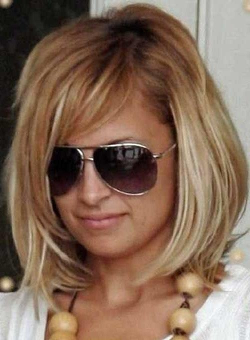Short Hairstyles 2016 – 2017 With 2017 Nicole Richie Shoulder Length Bob Hairstyles (View 13 of 15)