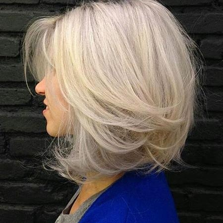 Short Hairstyles 2016 – 2017 With Newest Layered Medium Bob Hairstyles (View 8 of 15)
