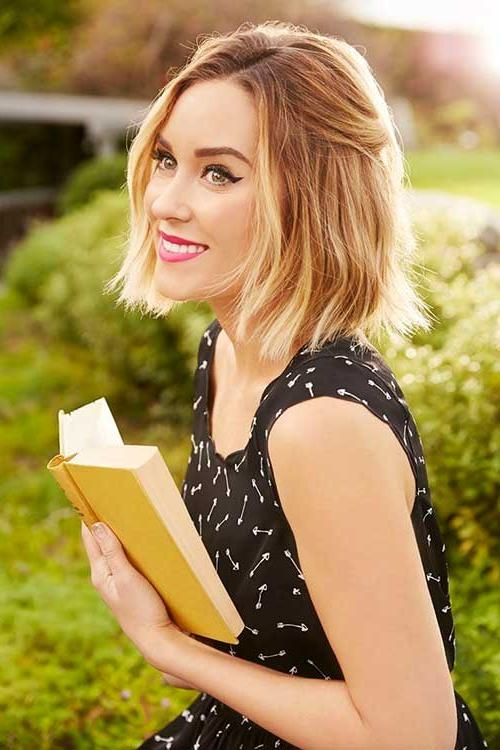 Featured Photo of Lauren Conrad Long Bob Hairstyles