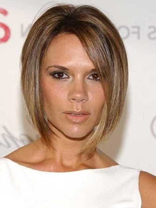 Featured Photo of Victoria Beckham Inverted Bob Hairstyles