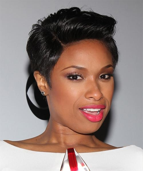 Short Hairstyles Jennifer Hudson (View 14 of 15)