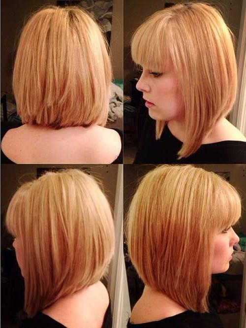 Featured Photo of Medium Bob Hairstyles With Bangs