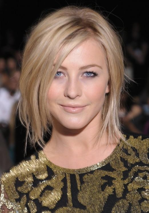Shoulder Length Bob Hairstyles 2013 Inside Most Recently Released Judy Greer Shoulder Length Bob Hairstyles (View 14 of 15)