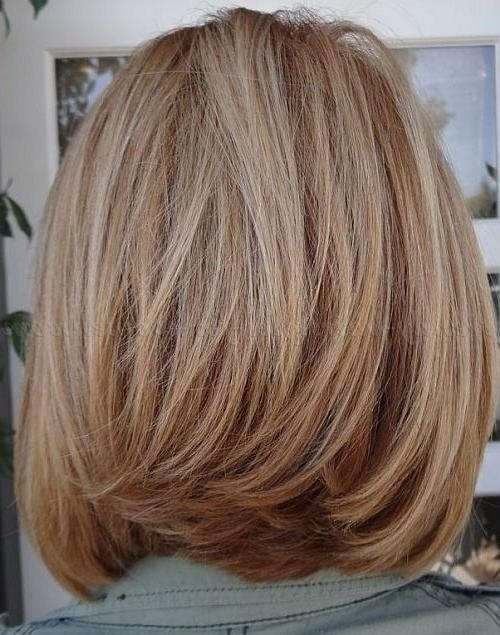Shoulder Length Hairstyles Over 50 – Long Bob Hairstyle For Women For Best And Newest Beautiful Shoulder Length Bob Haircuts (View 14 of 15)