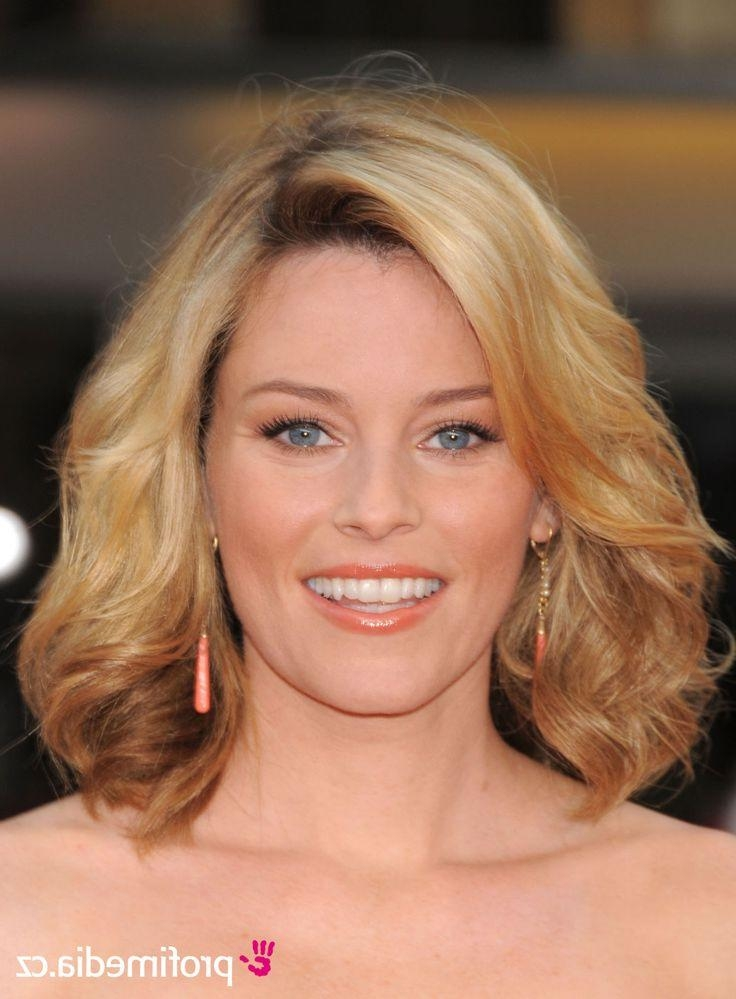 Shoulder Length In Most Recent Elizabeth Banks Shoulder Length Bob Hairstyles (View 14 of 15)