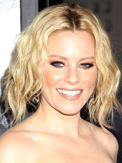 Shoulder Length With Well Known Elizabeth Banks Shoulder Length Bob Hairstyles (View 15 of 15)