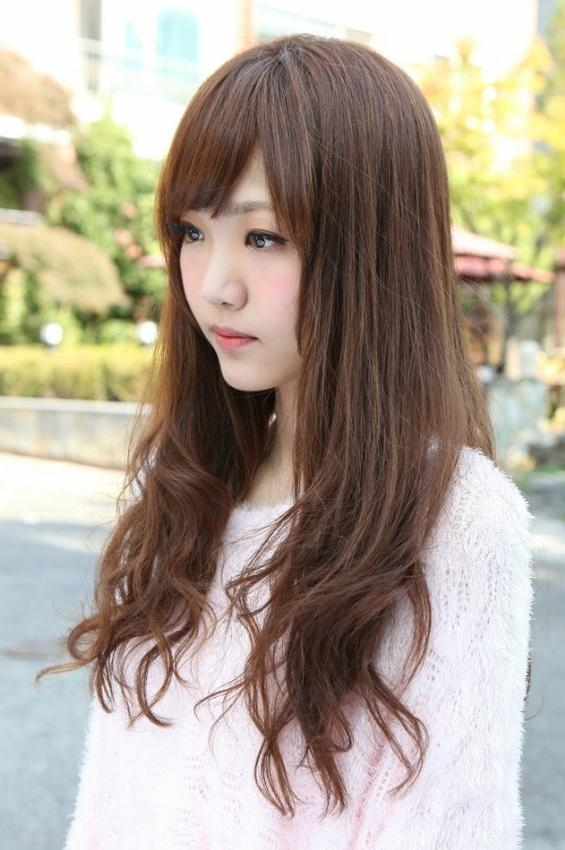 Side View Of Korean Long Hairstyle – Hairstyles Weekly With Regard To Korean Girl Long Hairstyles (View 14 of 15)