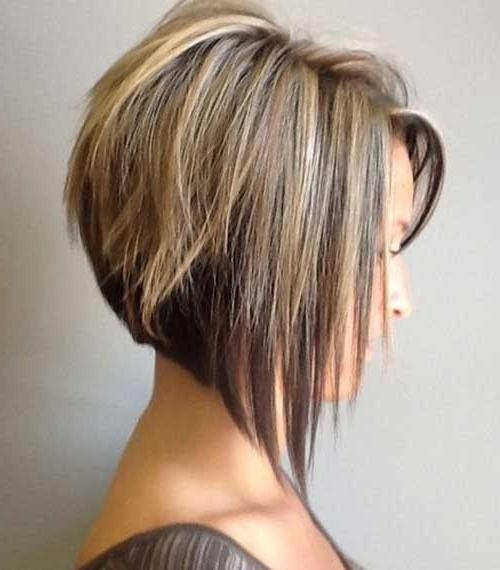 The Best Short Hairstyles For Women 2016 For Popular Layered Inverted Bob Haircut (View 13 of 15)