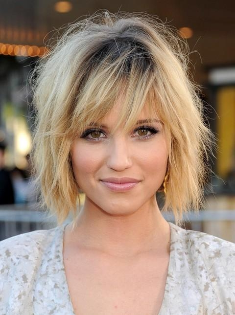 Top 21 Dianna Agron Hairstyles – Pretty Designs For Trendy Dianna Agron Bob Hairstyles (View 15 of 15)