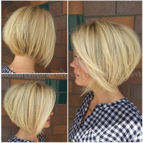 Trendy Hairstyles For Women Within Most Up To Date Stacked Bob Haircuts (View 14 of 15)