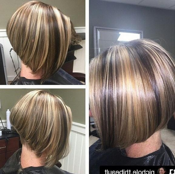 Trendy Layered Inverted Bob Haircut With Regard To 22 Amazing Layered Bob Hairstyles For 2018 You Should Not Miss (View 14 of 15)