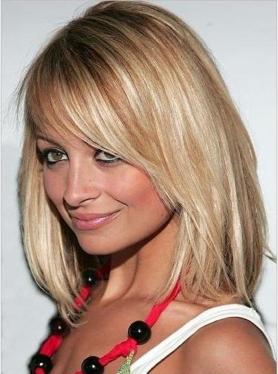 Trendy Nicole Richie Shoulder Length Bob Hairstyles Intended For 283 Best Nicole Images On Pinterest (View 14 of 15)