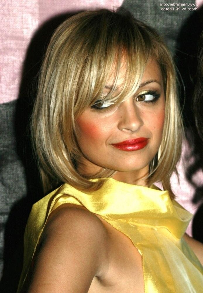 Photo Gallery Of Nicole Richie Shoulder Length Bob Hairstyles