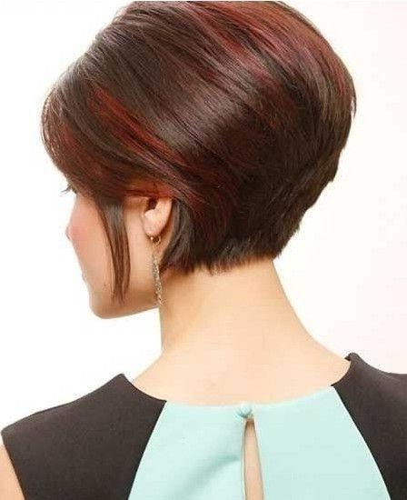 Trendy Short Stacked Bob Haircuts With Bangs With Regard To 20 Flawless Short Stacked Bobs To Steal The Focus Instantly (View 13 of 15)