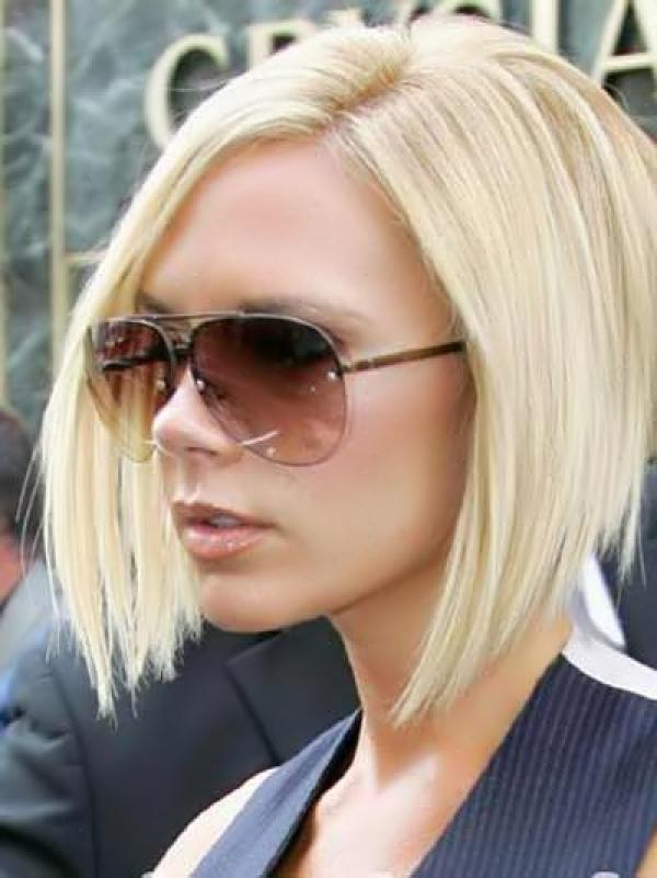 Victoria Beckham Graduated Choppy Bob Hairstylescorrespond To Intended For Popular Victoria Beckham Graduated Choppy Bob Hairstyles (View 15 of 15)