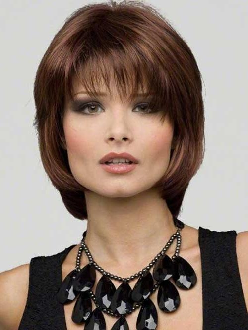 Well Known Medium Bob Hairstyles With Bangs Throughout 15+ Medium Length Bob With Bangs (View 13 of 15)