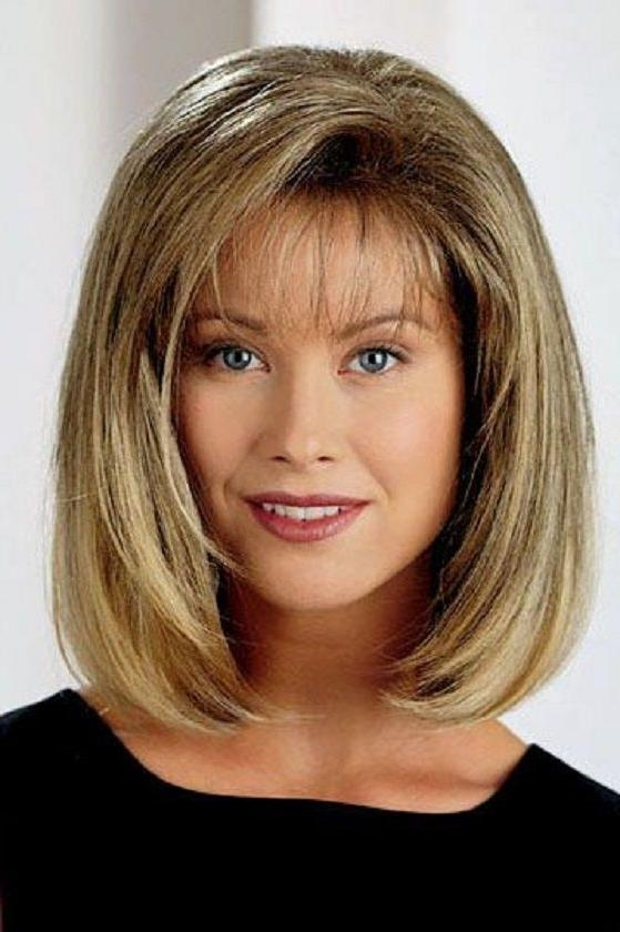 Well Known Medium Bob Hairstyles With Bangs With Regard To Best 25+ Medium Bob Bangs Ideas On Pinterest (View 12 of 15)