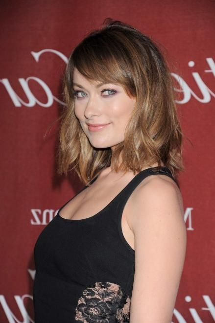Well Known Olivia Wilde Bob Hairstyles With Look We Love: Olivia Wilde's New Shorter Haircut – Chatelaine (View 1 of 15)