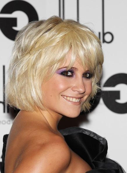 Well Known Pixie Lott Bob Hairstyles With Pixie Lott Bob – Pixie Lott Short Hairstyles Lookbook – Stylebistro (View 12 of 15)