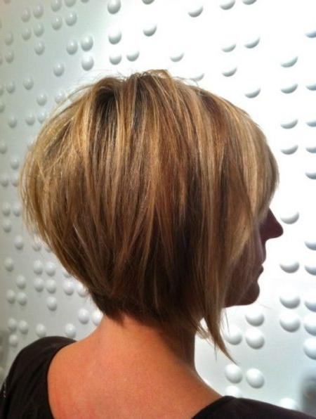Well Known Short Inverted Bob Haircut Back View Pertaining To Short Inverted Bob Haircuts Back View For Haircut (Gallery 3 of 15)