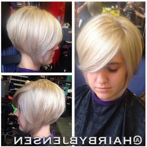 Well Known Short Inverted Bob Hairstyles For Fine Hair For 23 Stylish Bob Hairstyles 2017:easy Short Haircut Designs For Women (View 15 of 15)