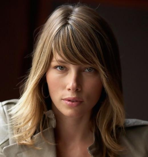 Well Liked Jessica Biel Shoulder Length Bob Hairstyles Regarding 22 Jessica Biel Hairstyles – Pretty Designs (View 9 of 15)