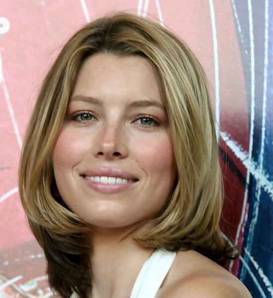 Well Liked Jessica Biel Shoulder Length Bob Hairstyles Within 15 Inspiring Medium Bob Hairstyles We Love (View 15 of 15)