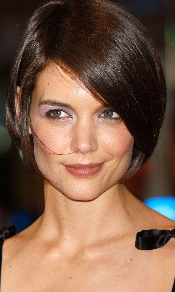 Well Liked Katie Holmes Short Bob Hairstyles With Regard To Best 25+ Katie Holmes Ideas On Pinterest (View 15 of 15)