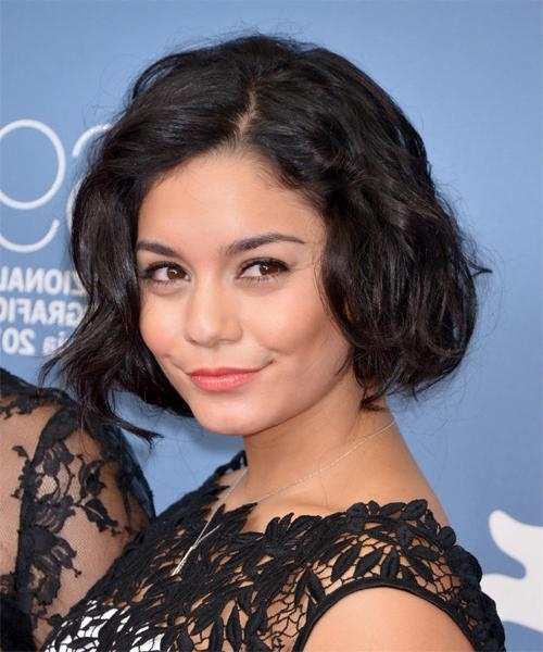 Well Liked Vanessa Hudgens Bob Hairstyles Inside Vanessa Hudgens Hairstyles For  (View 14 of 15)