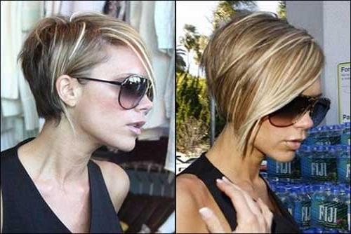 Photo Gallery Of Victoria Beckham Inverted Bob Hairstyles Viewing