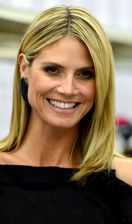 shoulder length hair styles heidi klum bob 15 inspirations of heidi klum shoulder 4813