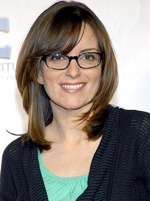 Widely Used Tina Fey Shoulder Length Bob Hairstyles Throughout 44 Best Haircut Images On Pinterest (View 15 of 15)