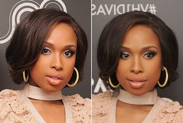 You've Got To Try Jennifer Hudson's Faux Bob – Hair Ideas – Livingly For Most Current Jennifer Hudson Bob Hairstyles (Gallery 14 of 15)