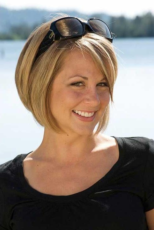 10 Best Short Haircuts For Round Faces | Short Hairstyles With Short Haircuts Bobs For Round Faces (View 1 of 20)